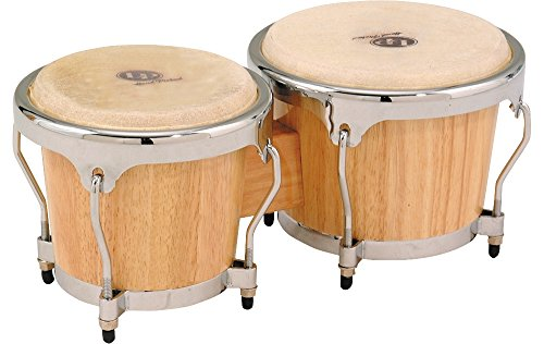 LP Classic II Bongos with Chrome Hardware Natural by Latin Percussion