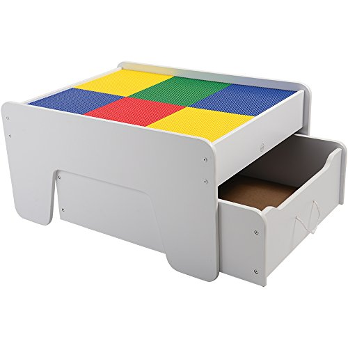 Superior Amazon.com: CP Toys Activity Table With Trundle Drawer For Preschool  Building Bricks: Toys U0026 Games