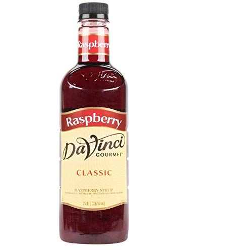 DaVinci Gourmet Classic Syrup, Raspberry, 25.4-Ounce Bottles (Pack of 3) ()