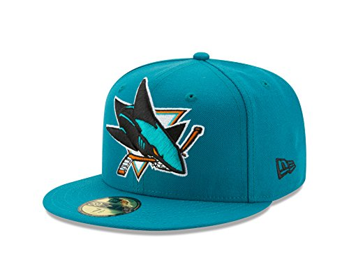 fitted san jose sharks hat - 2