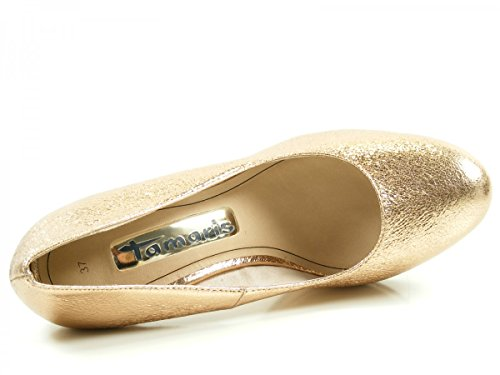 Tamaris 22407, Zapatos de Tacón para Mujer, 50 EU Gold