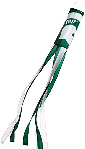 NCAA Michigan State Spartans Wind Sock, One Size, Team Color -