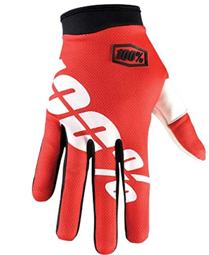 De Fire Itrack Gants 100 Protection Red zw4E6qAW7A