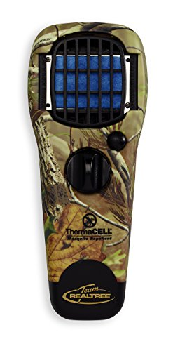 Realtree Thermacell Mosquito Repellent (Thermacell MR-TJ Portable Mosquito Repeller, Realtree Xtra Green)