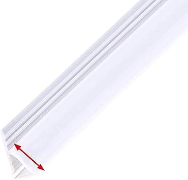 Sally - Tira de goma para mampara de ducha (6 mm, curvada o recta): Amazon.es: Bricolaje y herramientas
