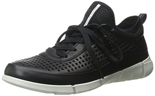Femme Black01001 Basses Sneakers Noir Ecco Intrinsic 1 0BTq78w