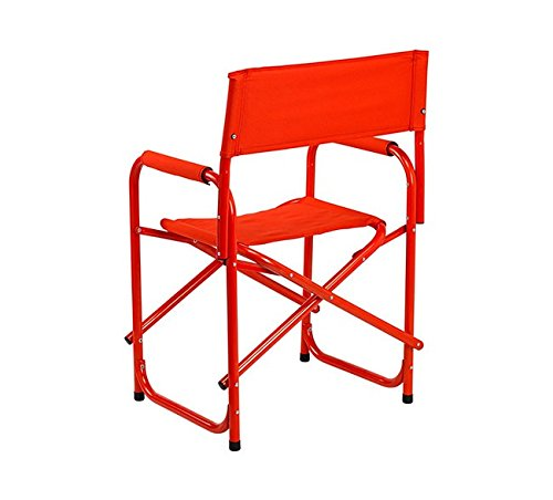 E-Z UP Directors Chair, Standard, Red by E-Z UP