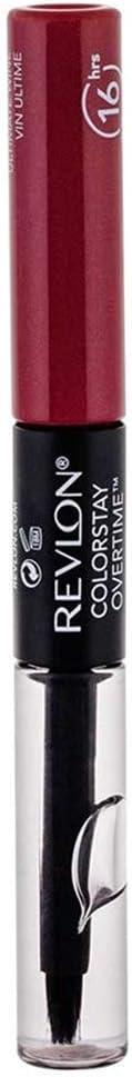 Revlon ColorStay Overtime Liquid Lip Color, Ultimate Wine [140] 0.07 oz (Pack of 3)