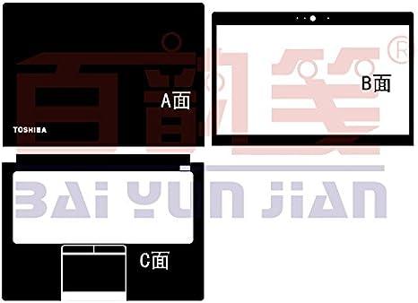 Laptop Carbon fiber Skin Sticker Guard Protector For Toshiba Z30T Z30