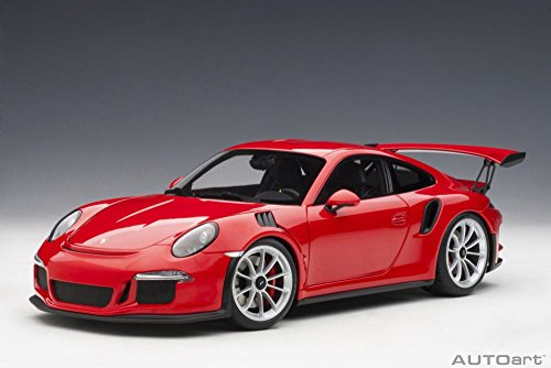 Porsche 911 (991) GT3 RS, Guards Red - Auto Art 78165 - 1/18 Scale Diecast Model Toy Car
