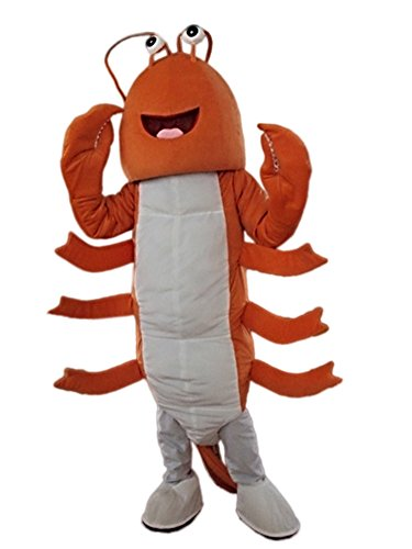 Mantis Shrimp Mascot Costume Adult Size Cartoon Halloween Fancy Dress Suit]()