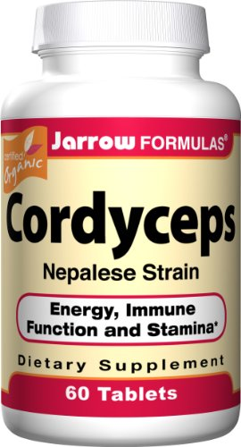 Jarrow Formulas Cordyceps, 500mg, 60 Tablets