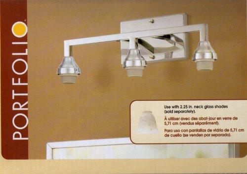 Portfolio 3-Light Vanity Bar Item# 0321369 Model# VBF22-3CH UPC ...