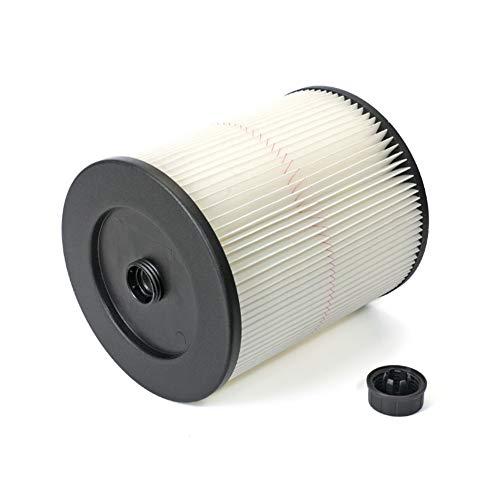 TBTeekk Replacement Vacuum Cartridge Filter for Shop Vac Craftsman 9-17816 Filter General Purpose Wet Dry Air Filter for 5 & Larger Gallon Vacuum Cleaner 1 Pack