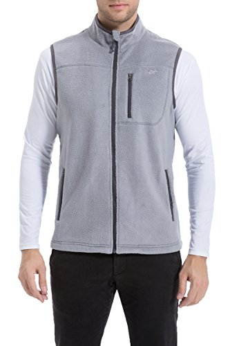 Zip Front Fleece Vest - 1