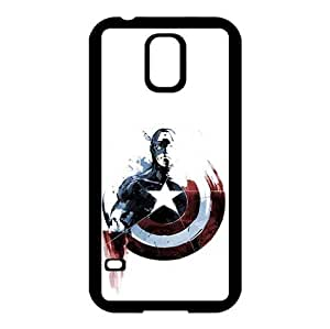 Artistic Captain America Protection Case for Samsung Galaxy S5 I9600