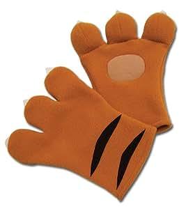 Code Geass Cosplay Nina's Tiger Plush Gloves GE-7078