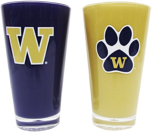 NCAA Washington Huskies 20-Ounce Insulated Tumbler - 2 Pack - Washington Nationals Tumbler