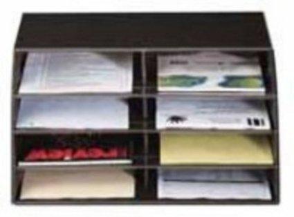 Schedario Ufficio Nero : Q connect porta lettere schedario per documenti colore: nero in
