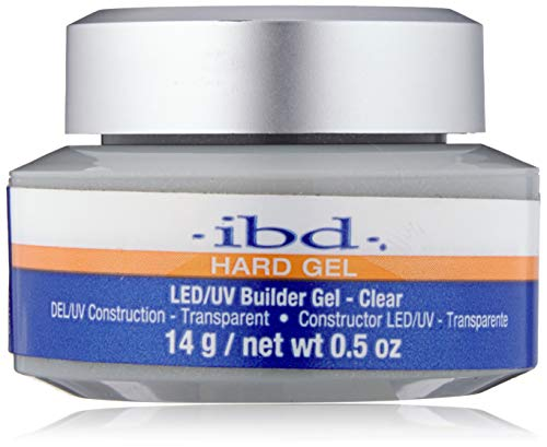 (IBD Led Builder Gel, Clear, 0.5 Ounce)