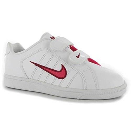 Nike Court Tradition 2 Plus (PSV) Kinder Sportschuhe Weiss Leder 408088 Weiß