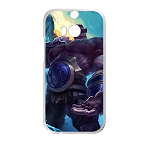 HTC One M8 Cell Phone Case White League of Legends Braum 0 UVW0602626