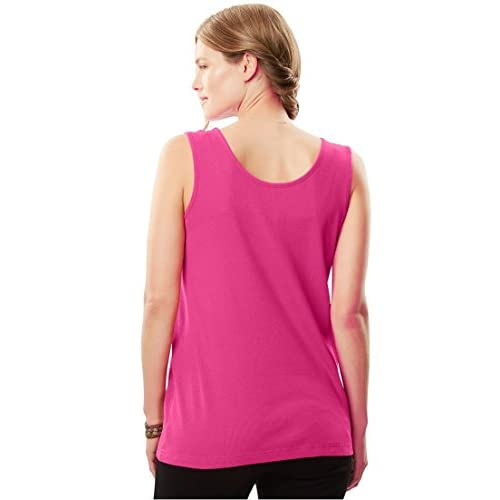4aa102db43c Women s Plus Size Ribbed Tank new - ozcape.com.au