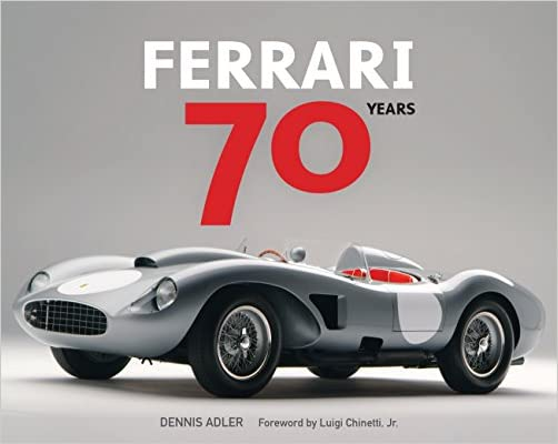 Ferrari 70 Years Hardcover