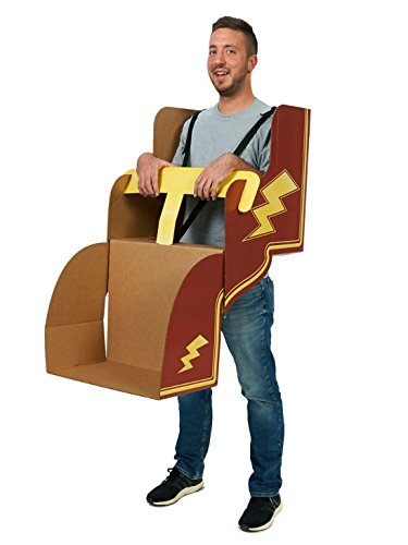 Roller Coaster Adult Cardboard Wearable Costume