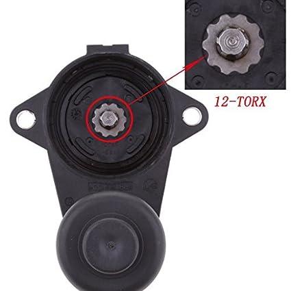 6-TORX 3C0998281 3C0998281A 3C0998281B 32330208 Rear Caliper Parking Brake Servo Motor For Audi Q3 VW Passat B6 B7 CC Tiguan Hot car parts