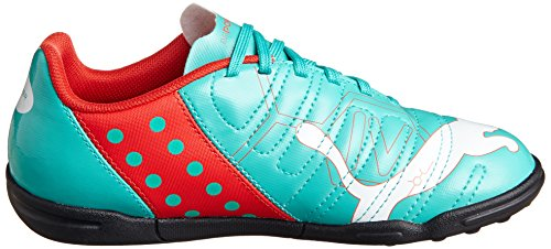 Puma evoPOWER 4 TT Jr zapatillas de deporte de fútbol de los muchachos Green