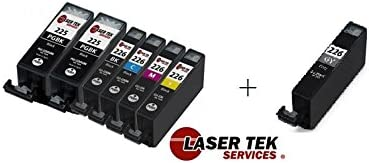MX712 Laser Tek Services Yellow Compatible Ink Cartridge Canon CLI-226Y CLI-226 MG5120 MX882 iP6520 MG5220 MX892 for use in: Canon PIXMA iP4820 MG5320 iP4920