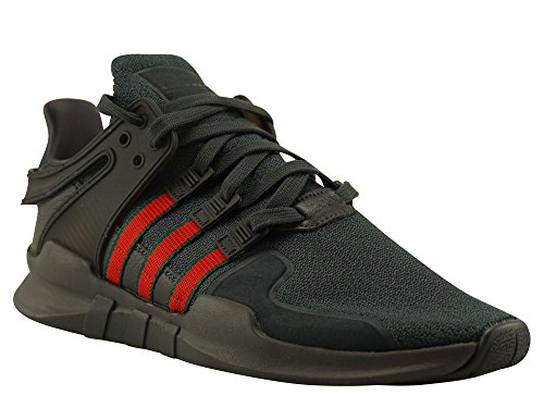 adidas Mens EQT Support ADV, UTIBLK/Scarle/Cgreen Grey