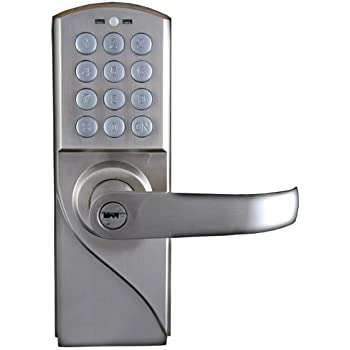 Lockstate Ls Rdj R S 10 Code Keyless Digital Door Lock