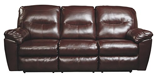 Ashley Furniture Signature Design - Kilzer DuraBlend Reclining Sofa - Contemporary Reclining Couch - - Sofa Reclining Contemporary