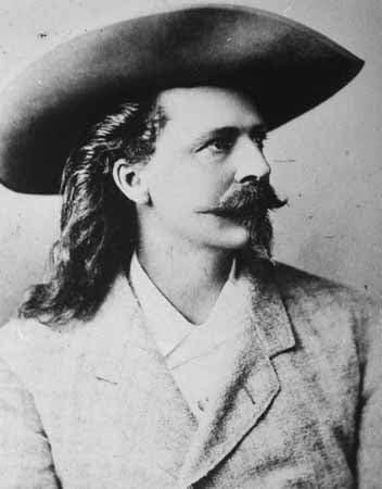 US Soldier Showman Buffalo Bill WILLIAM CODY Vintage 8X10 Photo Portrait Print
