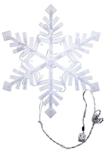 Impact Innovations Christmas Lighted Window Decoration, Snowflake (94999D) ()