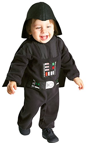 Scary Darth Vader Kids Costumes (UHC Boy's Star Wars Darth Vader Fancy Dress Toddler Outfit Halloween Costume, 18-24M)