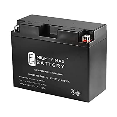 Mighty Max Battery YTX24HL-BS Battery for Kawasaki VN1500-A Vulcan 1500 1996-1998 brand product