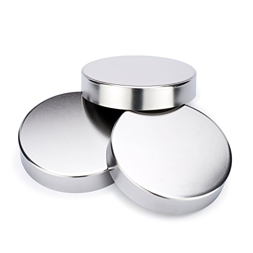 Decorative Mason Jar Lids | Stainless Steel Lid Covers | By Simple Life Cycle (Wide Mouth, 3 Pack)