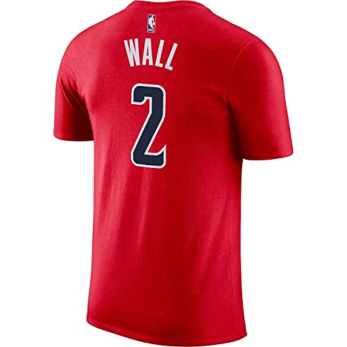 (Outerstuff John Wall Washington Wizards #2 Red Youth Performance Name & Number Shirt (X-Large 18/20))