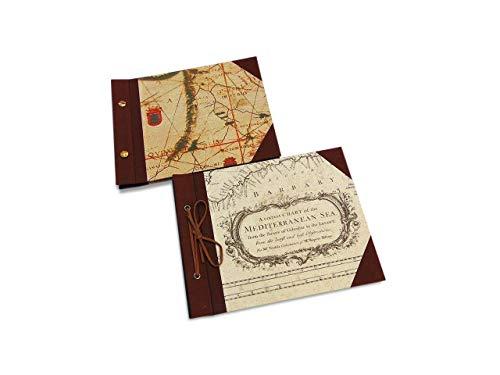 Álbum de fotos para regalo con mapas. Regalo para cumpleaños ...