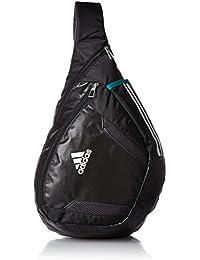 adidas messenger bag black gold
