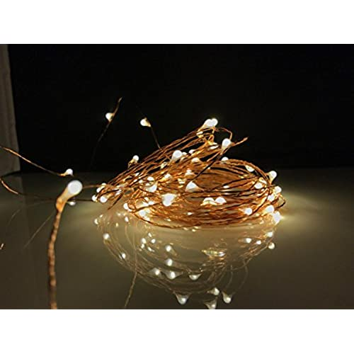Rustic wedding decorations for reception amazon indoor outdoor warm white firefly starry string lights for party weddings or decoration waterproof usb 1 pack junglespirit Choice Image