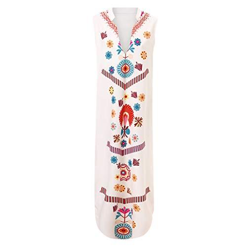 Impresión Del Vestido Manga Blanco Grandes De Nacional 2019 V Slyar Fiesta Tallas En Mujer Larga Vestidos Las Verano Con Mujeres Viento Cuello 0RndwZq