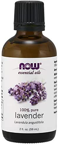 Now Essential Oils, Lavender Oil, 2 Fl. Oz (Pack of 1)