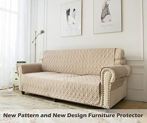 Ameritex Couch Sofa Slipcover 100 Waterproof Nonslip