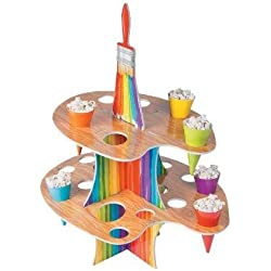 Cool Fun 13653480 Artist Party Treat Stand with Cones