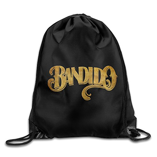 Price comparison product image Bandidos Motorcycle Club Mc Drawstring Backpack Travel Bag
