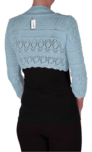 Lilly Lurex Catch Au Tricot Dames Crochet Glitz Eye EHp6wUxqO